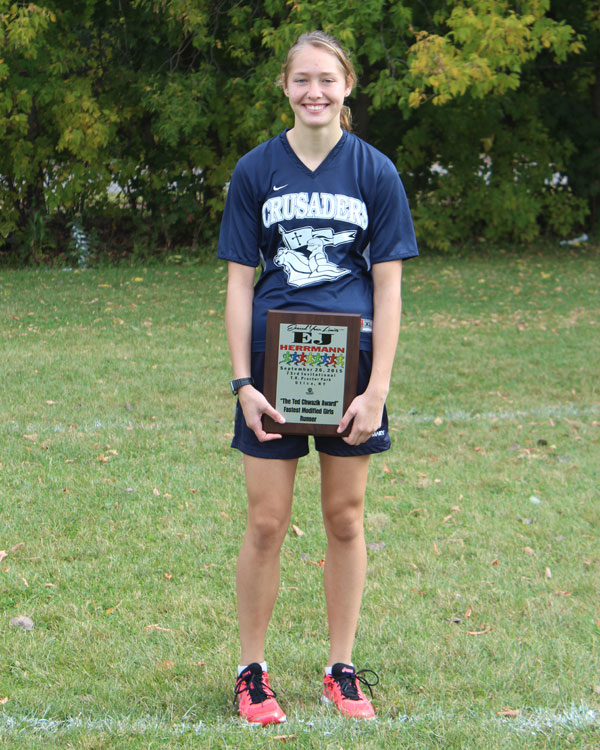 Image of the Ted Chwazik Award award winner Lexi Kundlacz from St. Mary-Brockville (CAN)