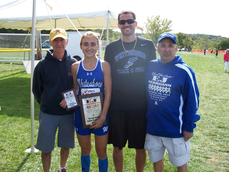 Image of the Sam Gratch Award award winner Justyna Wilkinson from Whitesboro