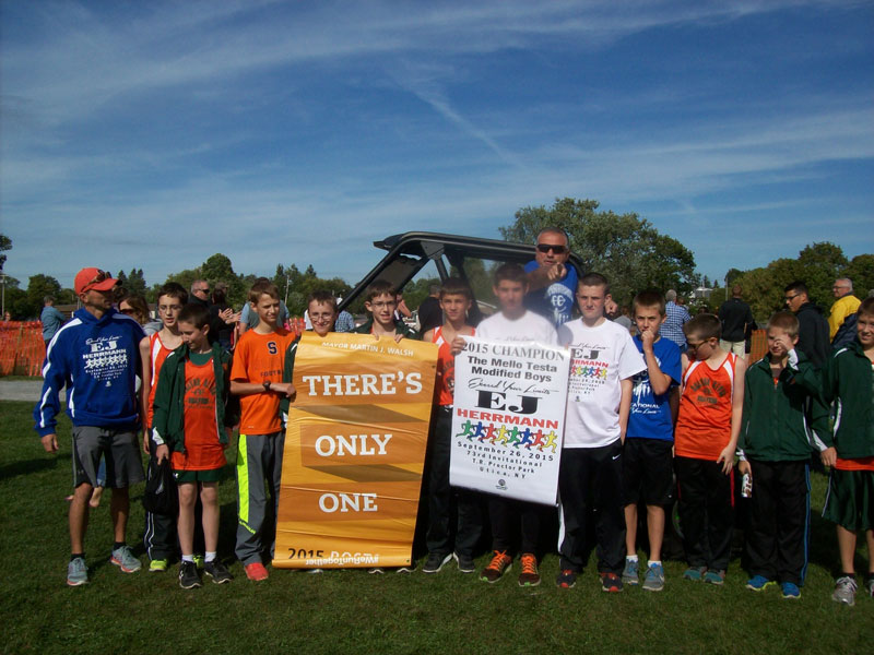 Image of the Mello Testa Boys Modified winning team Beaver River